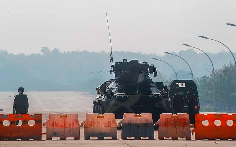 Monday's coup d'etat in Myanmar