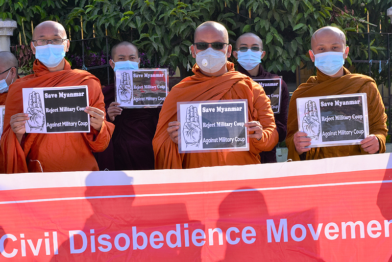 Myanmar's Civil Disobedience Movement