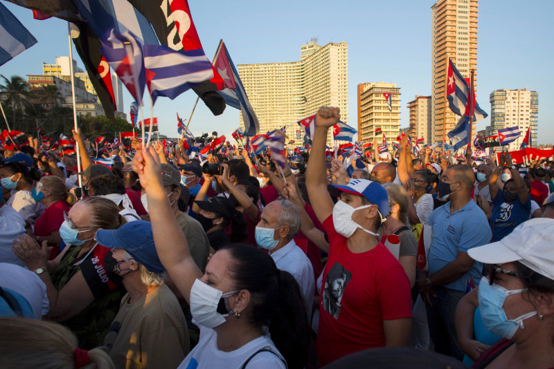 How China Helps the Cuban Regime Shut Down Protests