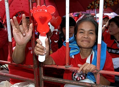 Thailand's Blood Red Protest