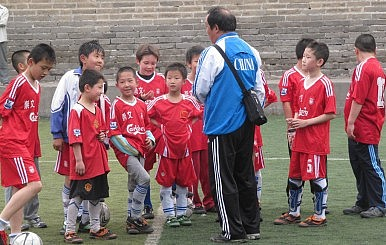 China's Soccer Czar