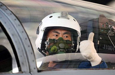 China Air Force Steps it Up