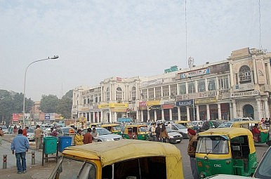 Connaught Place Sadness