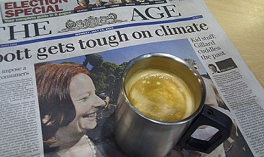 Gillard Election Gloss Fades