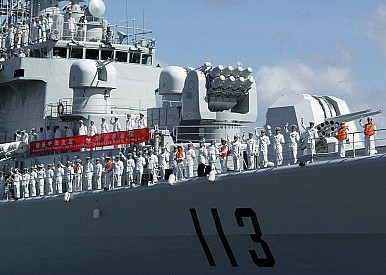 China's Naval Build-up Not Over