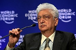 Azim Premji Steps Up