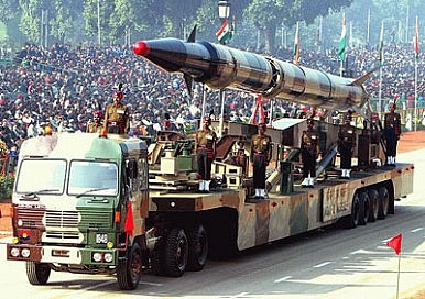 India Bolstering Missile Power