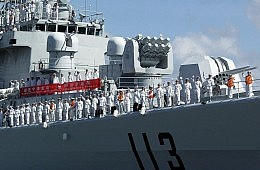 China Eyes Naval Track Record
