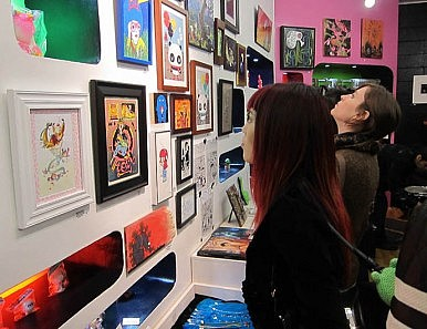Pop Art Fundraisers for Japan