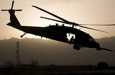 A Black Hawk View on Bin Laden