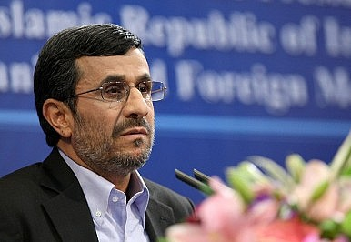 Ahmadinejad on the Ropes