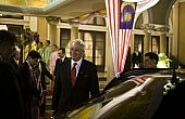 Najib, the Queen and the Pope