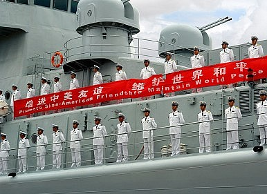 China's Two-Pronged Maritime Rise