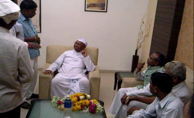 Anna Hazare Going Too Far?