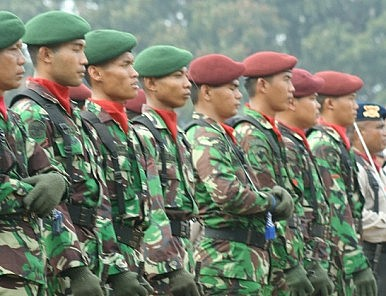 Indonesia Plans New Joint Military Commands