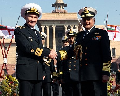 India, Russia Talk Defence Ties