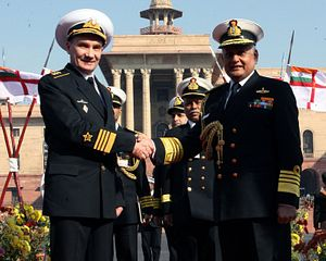 India, Russia Talk Defence Ties