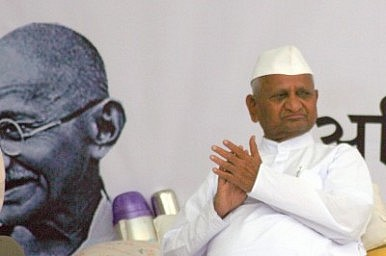 Anna Hazare Lashes Out