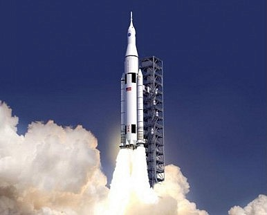 NASA's New Deep Space Rocket