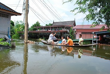 Inside the Thailand Flood Zone