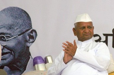Anna Hazare Goes on Attack