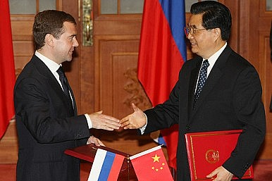 When China, Russia Cosy Up
