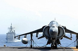 Harriers in the Taiwan Strait?