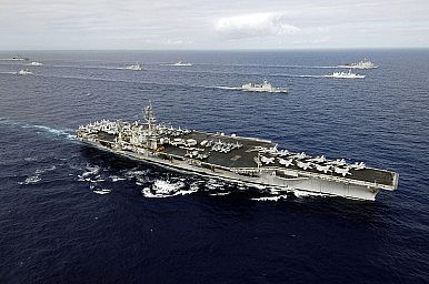 U.S. Counters Chinese Bases