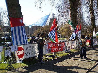 "West Papua's ""Freedom"" Flag"
