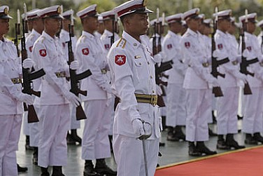'Young' Myanmar Still Needs Strong Military Role, Says Army Chief