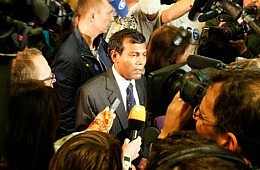 Coup in the Maldives?