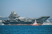 China Carrier Preps for Flight Ops?