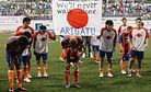 The J-League and the Tsunami
