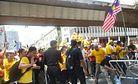 Malaysia Rally Turns Ugly