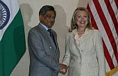 Clinton Covers India Bases