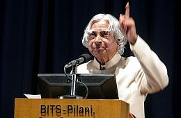 Kalam: 'Gandhi Opted Out'