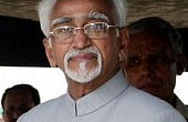 UPA Sticks To Ansari As VP