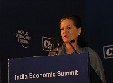Sonia Gandhi Lashes Out