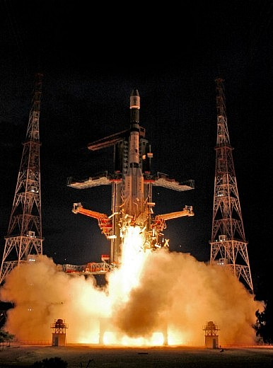 India's Space Agency Conducts 100th Mission