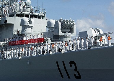 The Master 'PLAN': China's New Guided Missile Destroyer