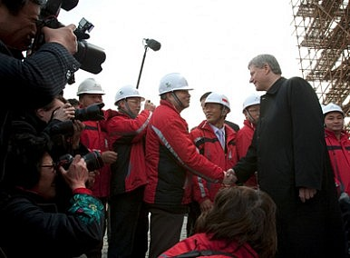 China, Canada and Oil Sands