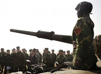 Is China's Military Worn Out?