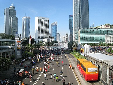 Indonesia's Economy Presses Ahead