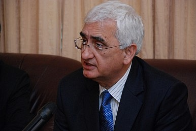 Salman Khurshid's New Role