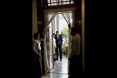 An Extraordinary Moment: Obama Makes History in Burma