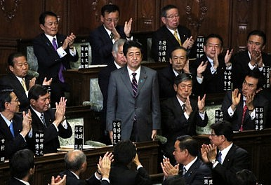 Shinzo Abe Returns As Japan's Prime Minister