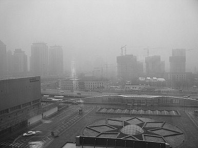 Black Cloud Over Beijing