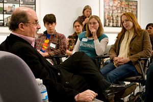 Salman Rushdie in India for Film Premiere