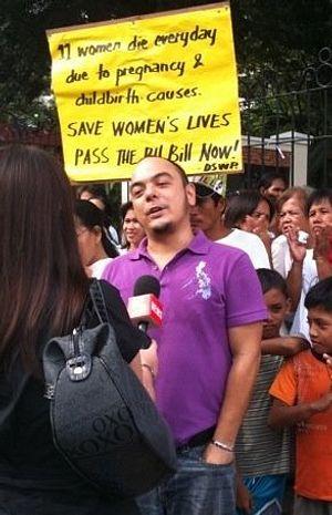 Philippine Street Artist Jailed for Offending Church