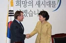 Park Geun-hye Takes the Reins